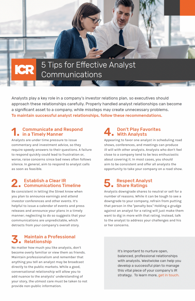ICR_checklist 5tips.for.analysts