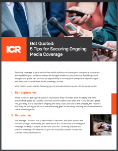 Tips for Getting Quoted in the Media-1